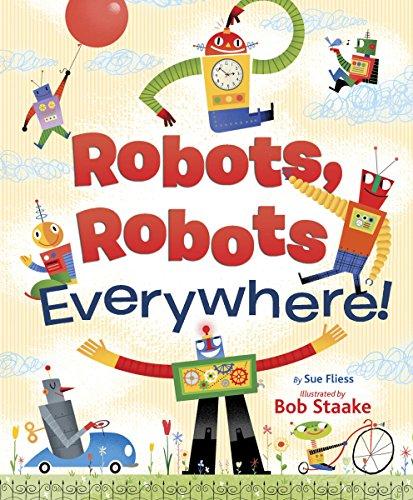 9780385389242: Robots, Robots Everywhere!