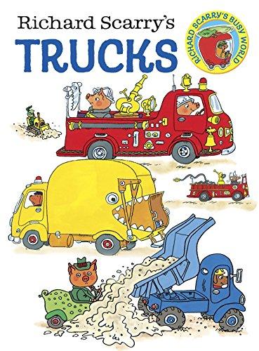 9780385389259: Richard Scarry's Trucks Board Book