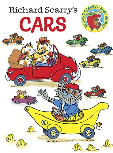 9780385389266: Richard Scarry's Cars (Richard Scarry's Busy World)