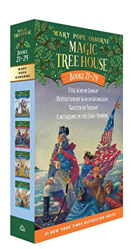 9780385389570: Magic Tree House Volumes 21-24 Boxed Set: American History Quartet