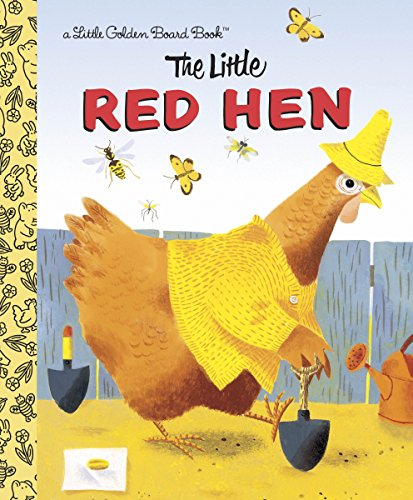9780385390941: The Little Red Hen (Little Golden Board Books)