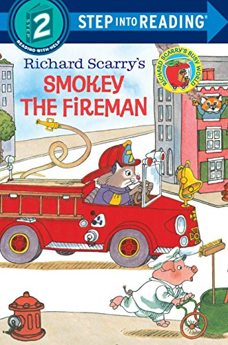 9780385391405: Richard Scarry's Smokey the Fireman (Step into Reading)
