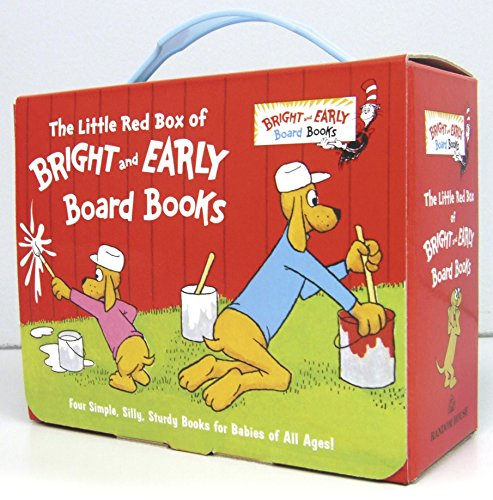 9780385392075: Little Red Box of Bright and Early Board Books (Bright & Early Board Books(Tm))