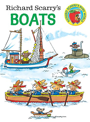 9780385392693: Richard Scarry's Boats (Richard Scarry's Busy World)