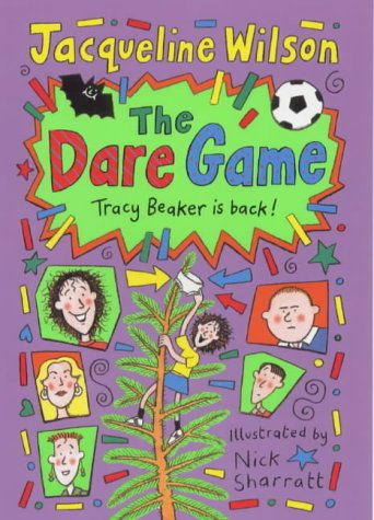 The Dare Game (SCARCE HARDBACK FIRST EDITION, FIRST PRINTING SIGNED BY THE AUTHOR)