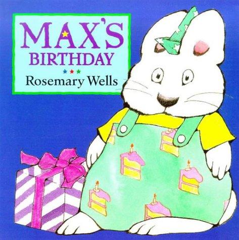 9780385409292: Max's Birthday (Max board books)