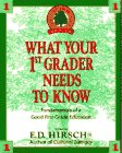 What Your First Grader Needs to Know: Fundamentals of a Good First Grade Education