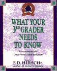 9780385411172: WHAT YOUR 3RD GRADER NEEDS TO KNOW (Core Knowledge Series)