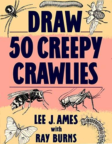 9780385411899: Draw 50 Creepy Crawlies