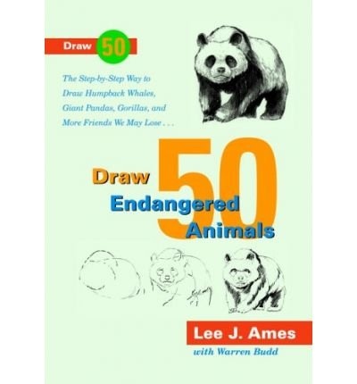 9780385411929: Draw Fifty Endangered Animals