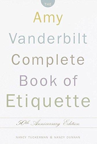 9780385413428: The Amy Vanderbilt Complete Book of Etiquette