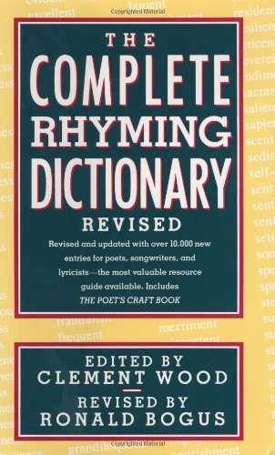 9780385413503: The Complete Rhyming Dictionary: Including the Poet's Craft Book