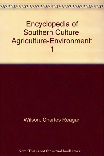 9780385415453: Encyclopedia of Southern Culture, Vol. 1