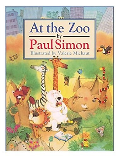 AT THE ZOO (Books for Young Readers): Simon, Paul