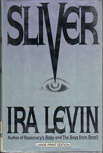 9780385418263: Sliver a Novel (Bantam/Doubleday/Delacorte Press Large Print Collection)