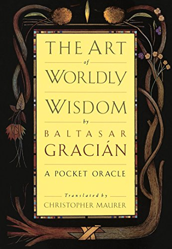 9780385421317: The Art of Worldly Wisdom: A Pocket Oracle