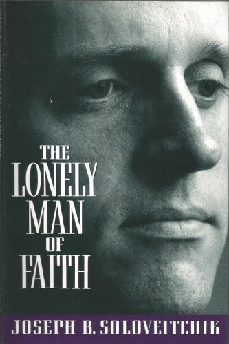 9780385422628: The Lonely Man of Faith