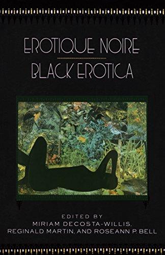 9780385423090: Erotique Noire/Black Erotica