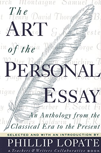 9780385423397 the art of the personal essay an anthology from the