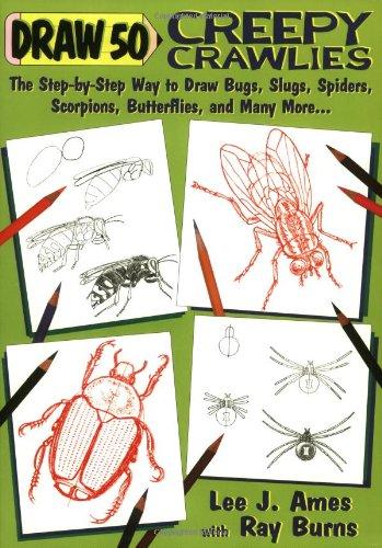 9780385424493: Draw 50 Creepy Crawlies
