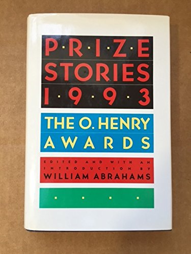 PRIZE STORIES 1993 (0385425317) by William Abrahams
