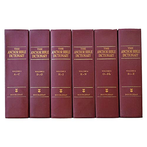 9780385425834: The Anchor Bible Dictionary (6 Volume Set) (v. 1-6)