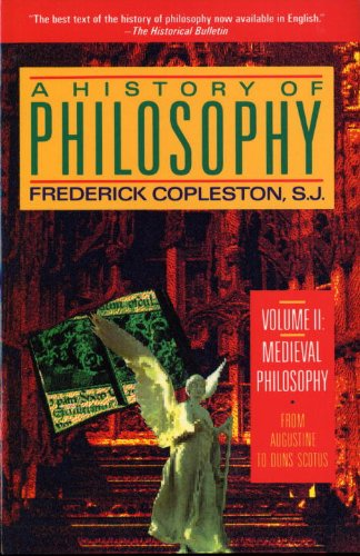 9780385468442: A History of Philosophy, Vol. 2: Medieval Philosophy - From Augustine to Duns Scotus