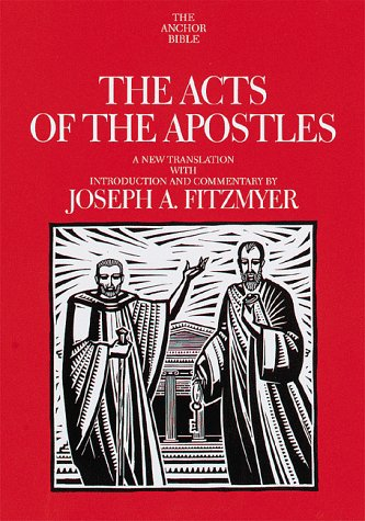 9780385468800: Acts of the Apostles (Anchor Bible)