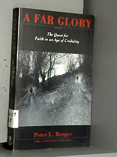 9780385469791: A Far Glory