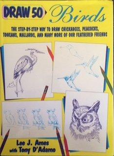 9780385470063: Draw 50 Birds (Draw 50 Series)