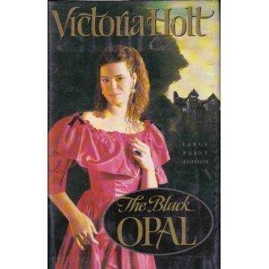 9780385470254: The Black Opal (Bantam/Doubleday/Delacorte Press Large Print Collection)