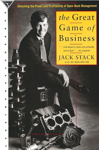 9780385475259: The Great Game of Business: Unlocking the Power and Profitability of Open-Book Management