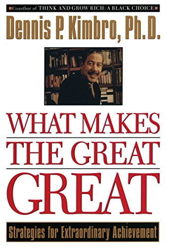 9780385483964: What Makes the Great Great: Strategies for Extraordinary Achievement