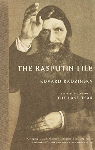The Rasputin File: Radzinsky, Edvard