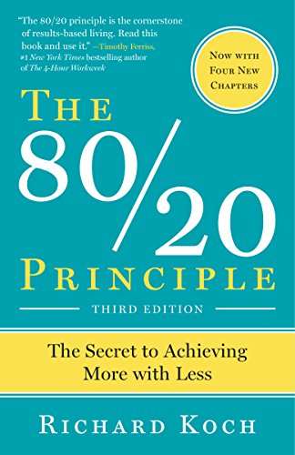9780385491747: The 80/20 Principle: The Secret to Achieving More with Less