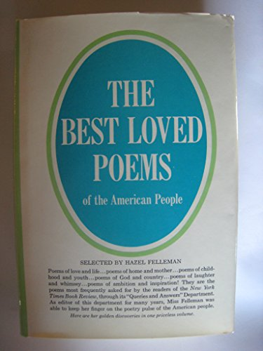 9780385492355: Best Loved Poems of the American People