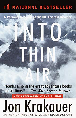 9780385494786: Jon Krakauer: Into Thin Air, A Personal Account of the Mount Everest Disaster