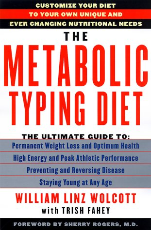 9780385496919: The Metabolic Typing Diet