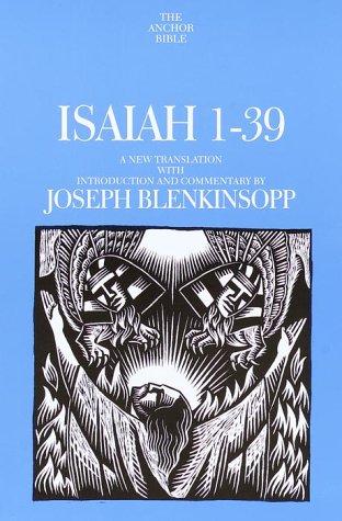 9780385497169: Isaiah 1-39 (Anchor Yale Bible)