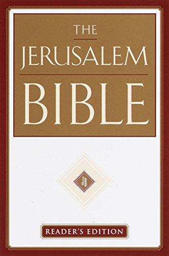 9780385499187: The Jerusalem Bible: Reader's Edition