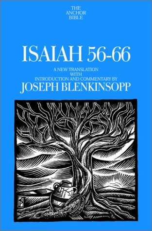 9780385501743: Isaiah 56-66: A New Translation with Introduction and Commentary (Anchor Yale Bible Commentaries)