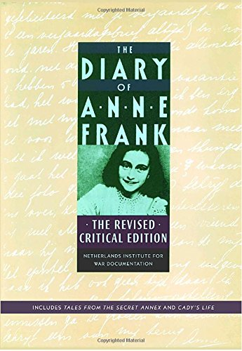 9780385508476: The Diary of Anne Frank: The Revised Critical Edition