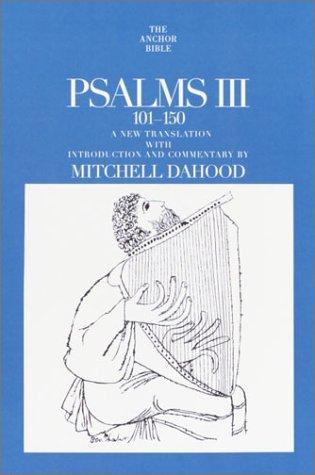 9780385509084: Psalms III