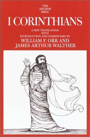 9780385509169: I Corinthians (The Anchor Yale Bible Commentaries)