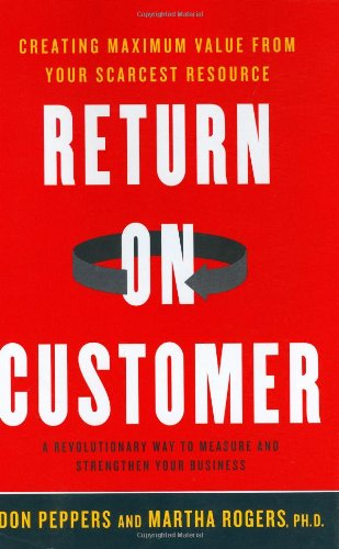 Return on Customer : Creating Maximum Value: Don Peppers; Martha