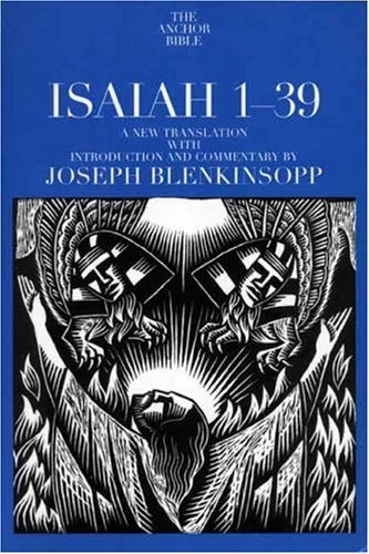 9780385513791: Isaiah 1-39: A New Translation with Introduction and Commentary