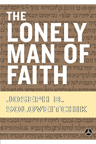 9780385514088: The Lonely Man of Faith