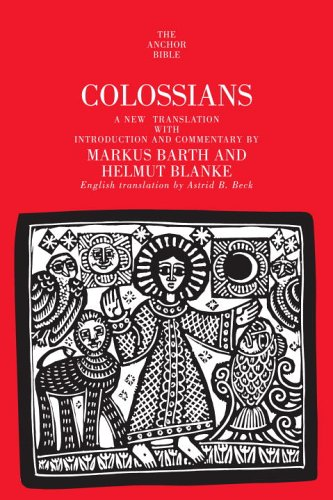 9780385516006: Colossians: A New Translation with Introduction & Commentary