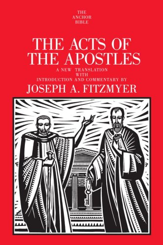 9780385516792: ACTS OF THE APOSTLES (Anchor Bible)