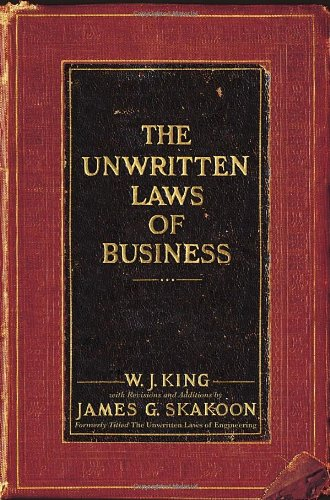 9780385521260: The Unwritten Laws of Business